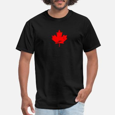 Canadian Symbol Canada Maple Leaf National Symbol Canadian Pride - Men's T-Shirt