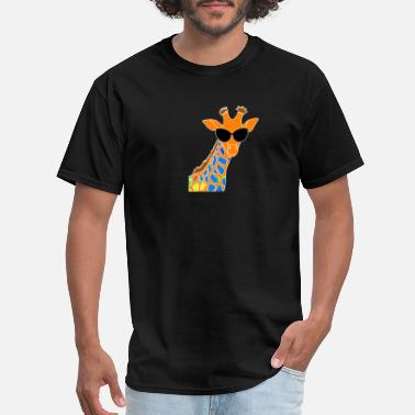 Giraffe Design GIRAFFE PRINT DESIGN - Men's T-Shirt