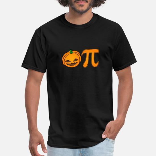 2971bdfad Lantern T-Shirts - Pumpkin Pi Jack O' Lantern Halloween Funny Math - Men's.  Customize