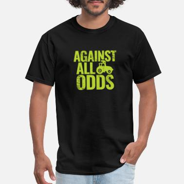 Against All Odds Against All Odds Tractor kids farmer gift christma - Men's T-Shirt