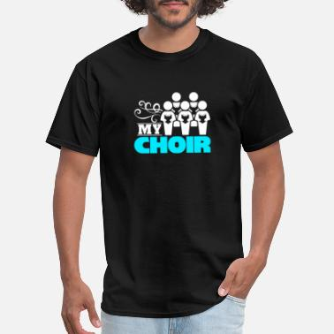 Mens Choir My Choir children conductor school choir gift - Men's T-Shirt