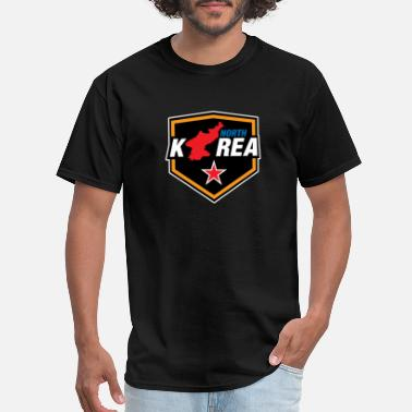 North Korea South Korea Korea flag Asia - Men's T-Shirt