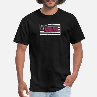 Multiple Personalities USA Flag - Multiple Myeloma Awareness Gift - Men's T-Shirt