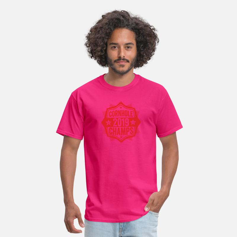 8209cbc8 Cornhole Champion 2019 T-Shirt Distressed Vintage Men's T-Shirt |  Spreadshirt