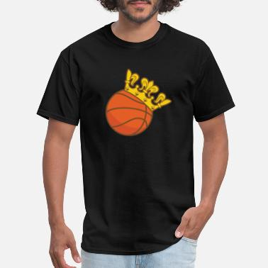 Crown Basketball Basketball Crown king - Men's T-Shirt