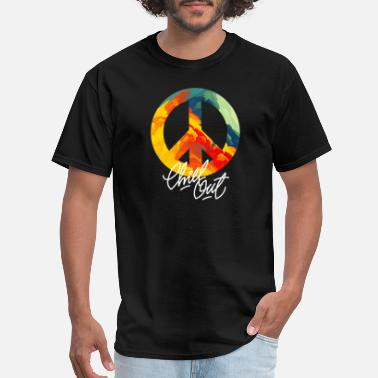 Chill Out Music Peace Chill Out - Men's T-Shirt