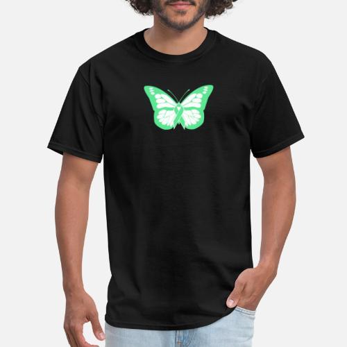 0b8030bd Butterfly - Non-Hodgkin's Lymphoma Awareness Men's T-Shirt | Spreadshirt