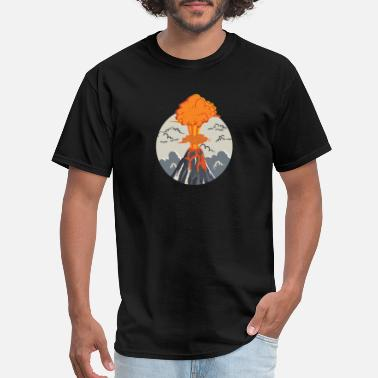 Eruption erupting volcano - Men's T-Shirt