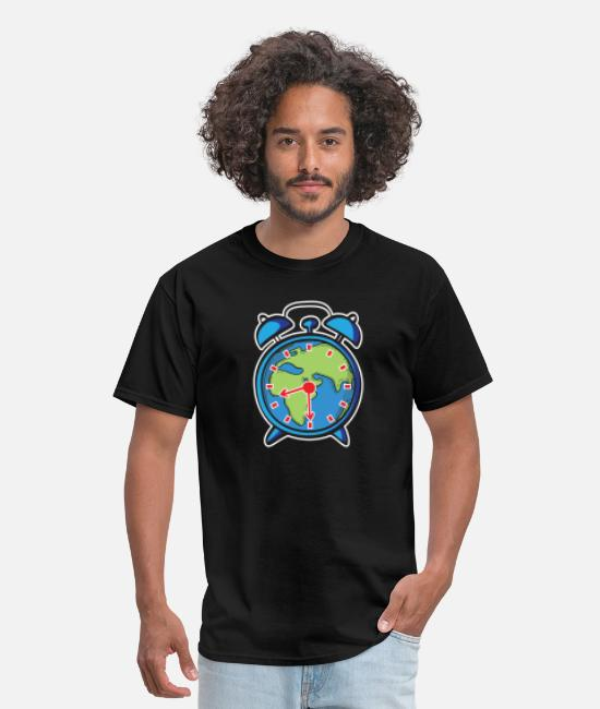 Earth T-Shirts - Earth hour - Save our planet - Men's T-Shirt black