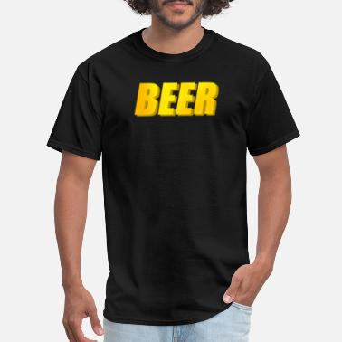 beer bier oktoberfest - Men's T-Shirt