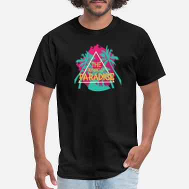 Horizon The Tropical Paradise - Men's T-Shirt