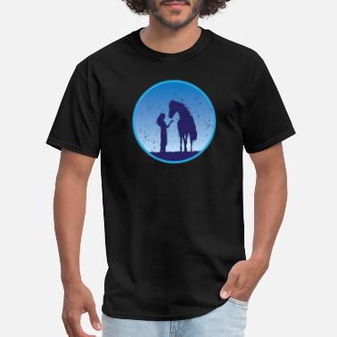 Serenity Horse and Girl - Men's T-Shirt