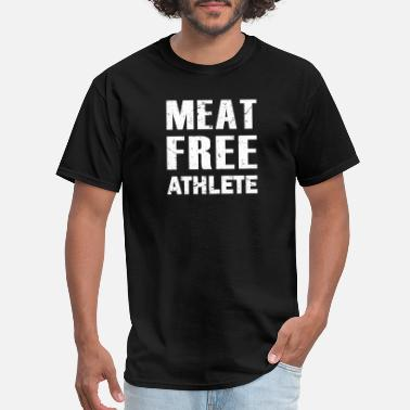 Vegetarian Diet Meat Free Shirt Activist Top Mens Veggie Burger Tshirt