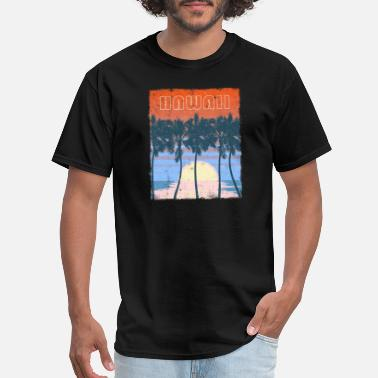 Eye Catching Hawaii Beach Family Vacation Keepsake - Men's T-Shirt