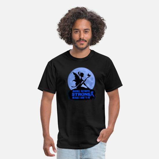 Strong T-Shirts - Juvenile Arthritis Awareness - Men's T-Shirt black
