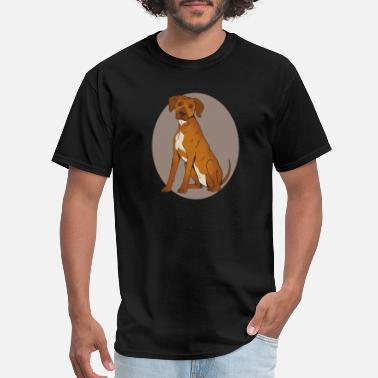 Zimbabwe Rhodesian Ridgeback dog breed favorite dog - Men's T-Shirt