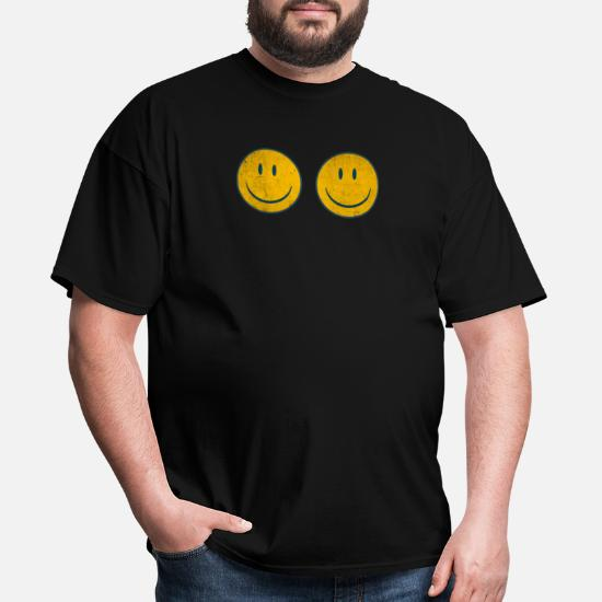 Vintage SMILEY FACE SHIRT70/'s Vibe ShirtYellow Smiley Vintage Men Gift Tee
