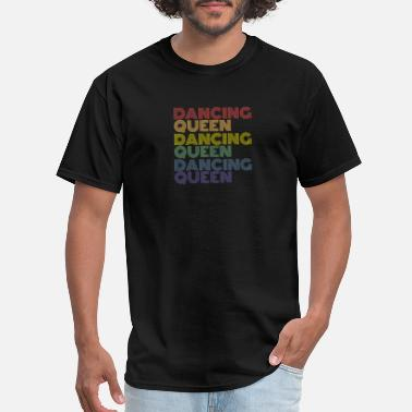 Academy Dancing Queen Vintage Retro Dancing 70s - Men's T-Shirt