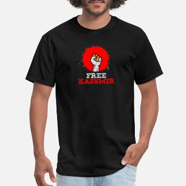 Protests FREE KASHMIR - Stand for Kashmir Solidarity and - Men's T-Shirt