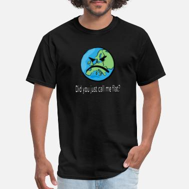 Sphere Did you just call me flat? - Men's T-Shirt