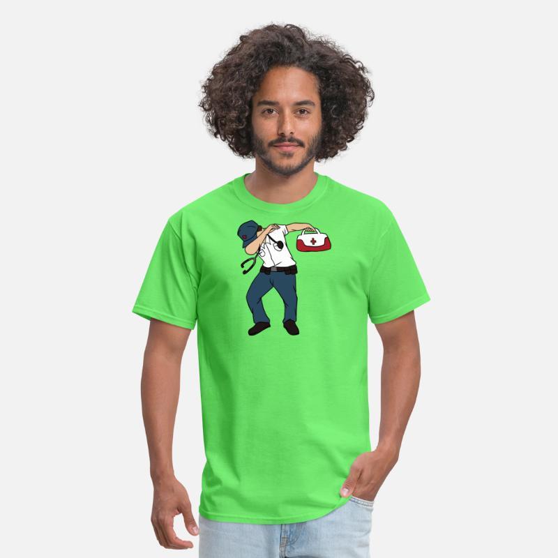 510ef694 Dabbing Paramedic T-Shirt - Funny Medical Tech Dab Men's T-Shirt |  Spreadshirt