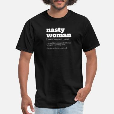 Nasty Apparel NASTY WOMAN Definition T-Shirt - Men's T-Shirt