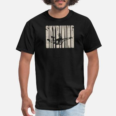Skydive Extreme Skydiving extreme sports lover gift - Men's T-Shirt