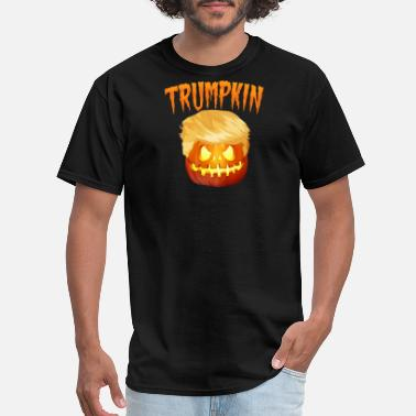 Anti-republican Kids Politics Trumpkin Make Halloween Great Again Trump Hallowee - Men's T-Shirt
