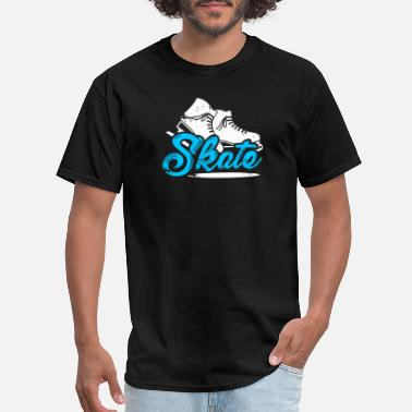 Ice Skate Ice skating rink skate ice - Men's T-Shirt