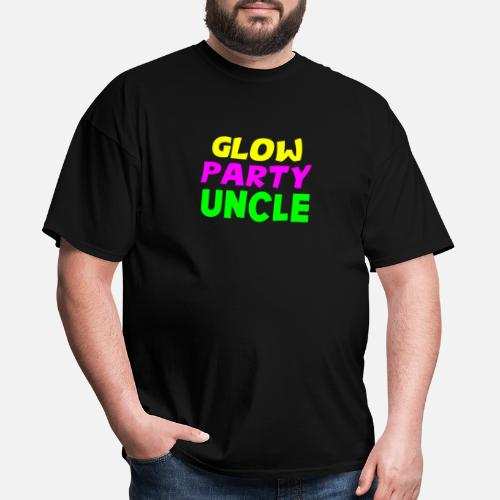 Glow Party Uncle T Shirt Neon Birthday Glowing By FreshDressedTees