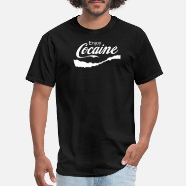 Enjoy Enjoy Cocaine - Men's T-Shirt