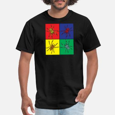 Spiders Art Pop Art Spider - Men's T-Shirt