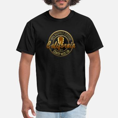 Nashville Tn Country Music California Country Music Fans - Men's T-Shirt