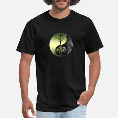Nature Conservation Nature Conservation Yin Yang-Save Our Mother Earth - Men's T-Shirt