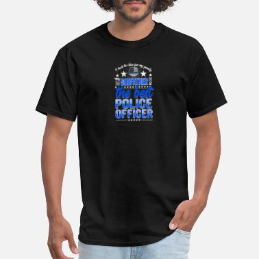 The Graduate Godfather Best Police Officer Godfather Cop Thin Blue Line - Men's T-Shirt