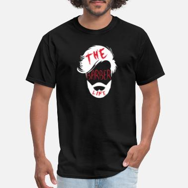 Barber Shirt for Barber as a gift - The barber life - Men's T-Shirt