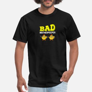 Bandits Kids Bad Motherpeeper funny easter Gift shirt - Men's T-Shirt