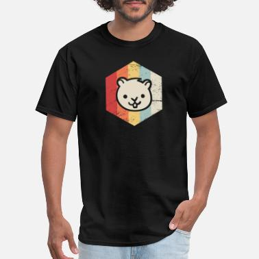 Gerbil Pet Retro 70s Gerbil - Men's T-Shirt
