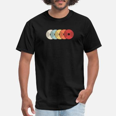 Record Retro Vinyl Records - Men's T-Shirt