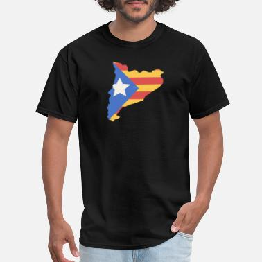 Flag Of Catalunya Catalonia | Catalunya Country & Flag - Men's T-Shirt