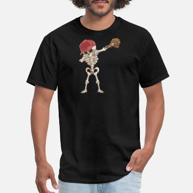 Baseball Stickers Baseball Skeleton - Men's T-Shirt