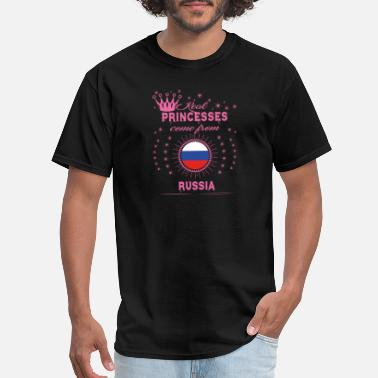 Mother Russia queen real princesses princess from RUSSIA - Men's T-Shirt