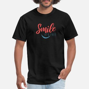 Smile It´s free - Men's T-Shirt