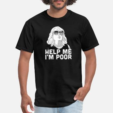 Golf Comic HELP ME I M POOR - Men's T-Shirt