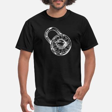Combination Combination Lock - Men's T-Shirt