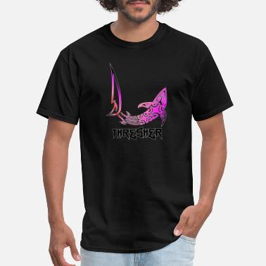 Long Tail Thresher Shark - Men's T-Shirt