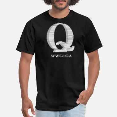 Qanon QAnon Documents Papers Q Anon Great Awakening - Men's T-Shirt