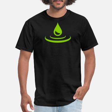 Water Drops drop - water - Men's T-Shirt