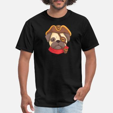 Caribbean Kids Awesome Pirates of The Caribbean dog funny t shirt - Men's T-Shirt