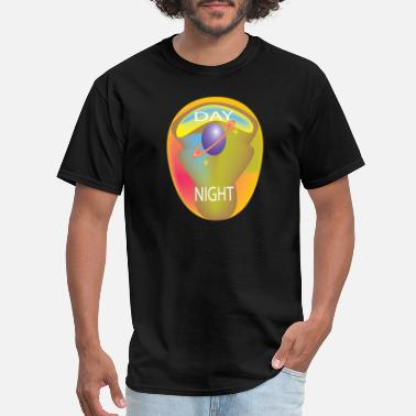 Day Night day and night - Men's T-Shirt